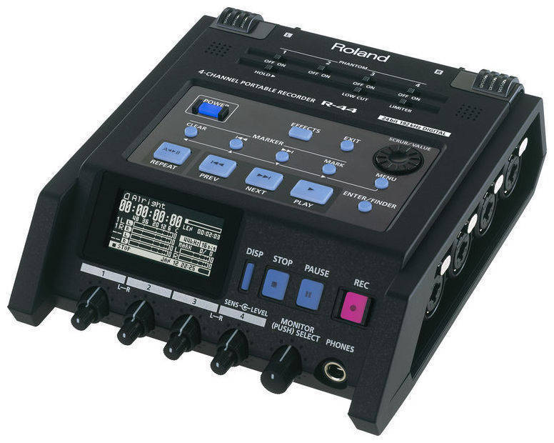 Roland 4 Channel Audio Recorder