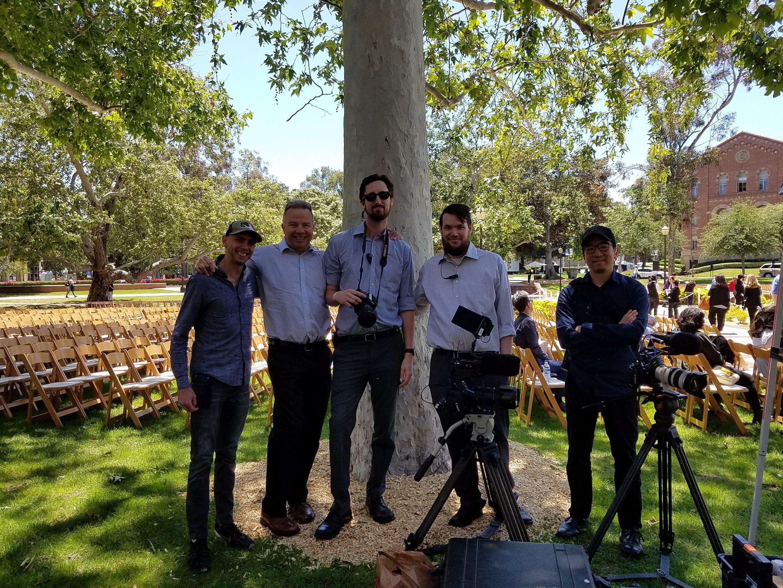 UCLA video crew