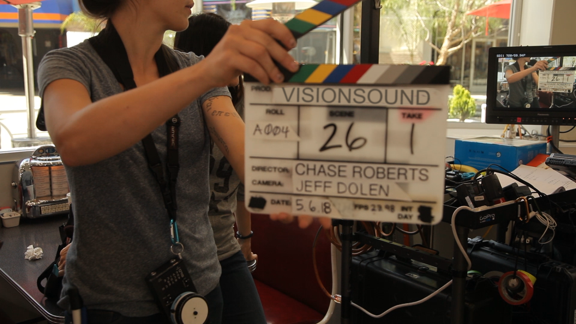 slate for video production